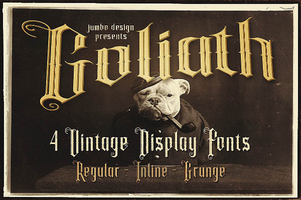 Gothic Display Font