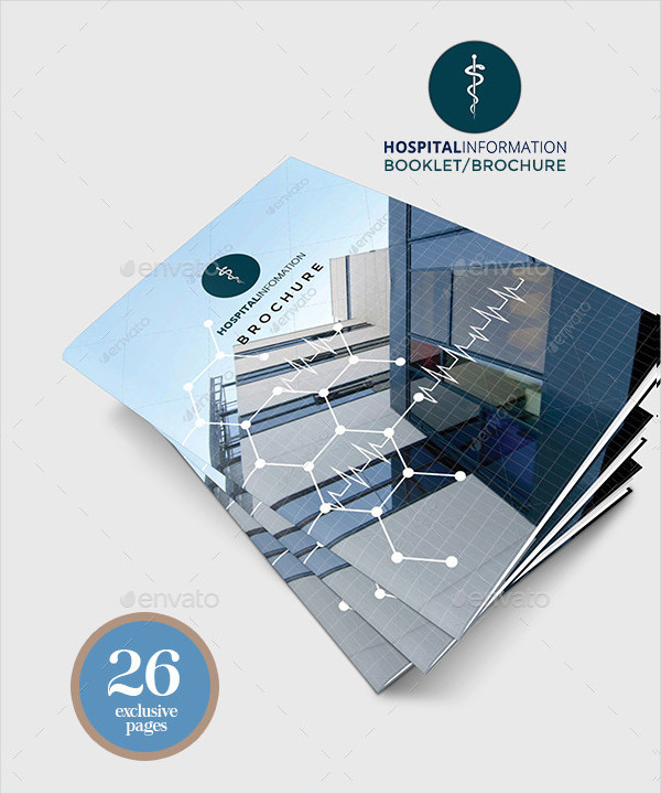 Hospital General Informational Brochures Pack