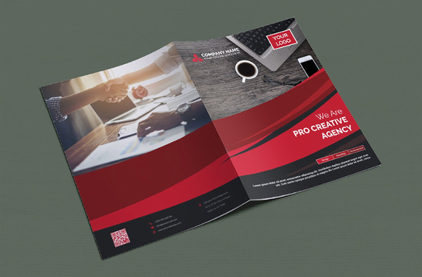 Information Bifold Brochure Template