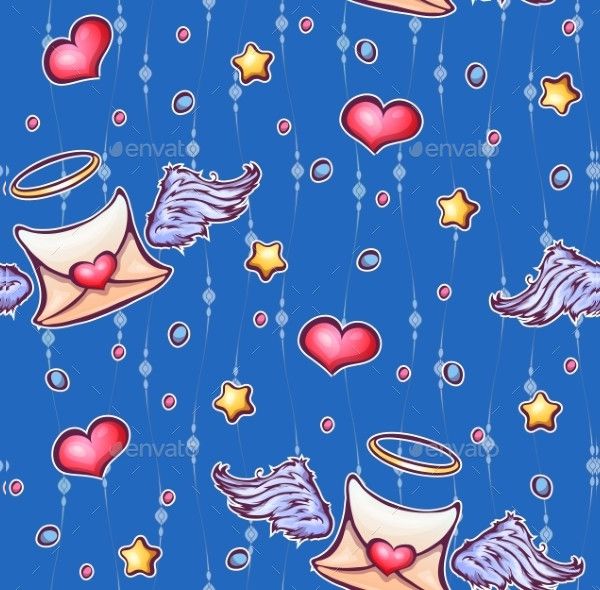 Love and Star Pattern