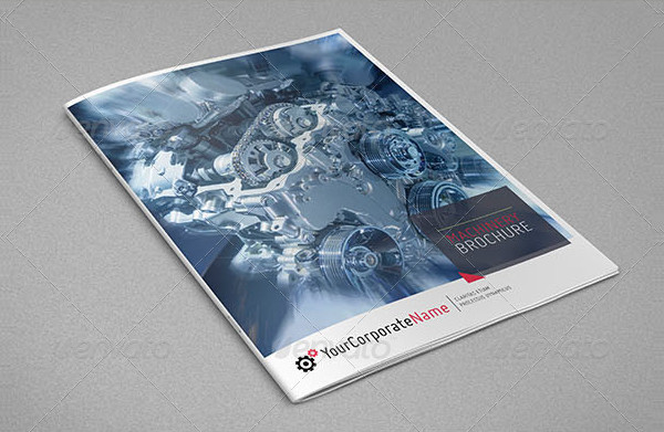 Machinery Information Brochure Template