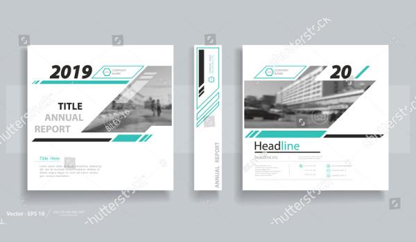 Modern Information Brochure Vector