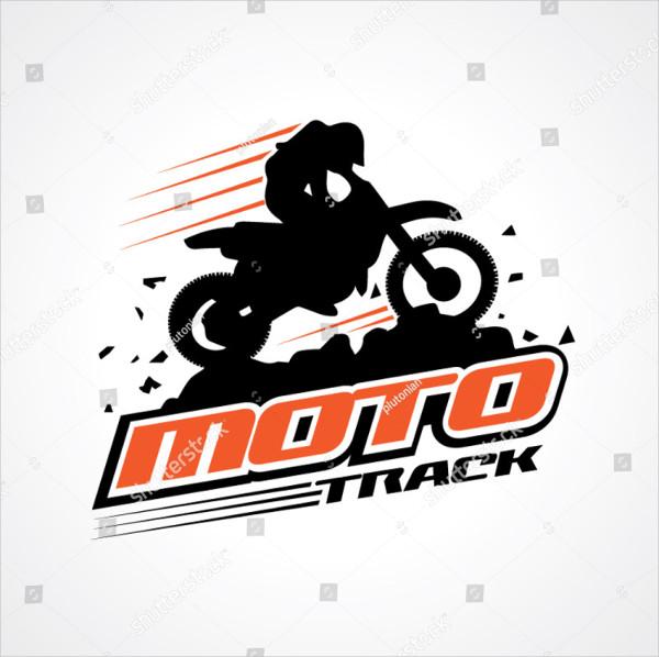 Moto Track Logo Sign