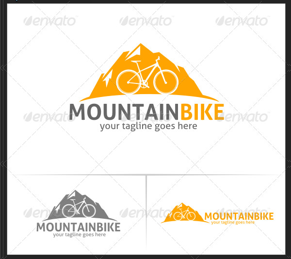 Mountain Bike Logo Templates