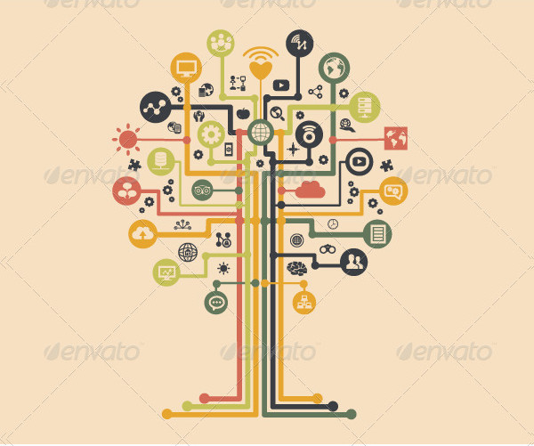 Network Tree Icon