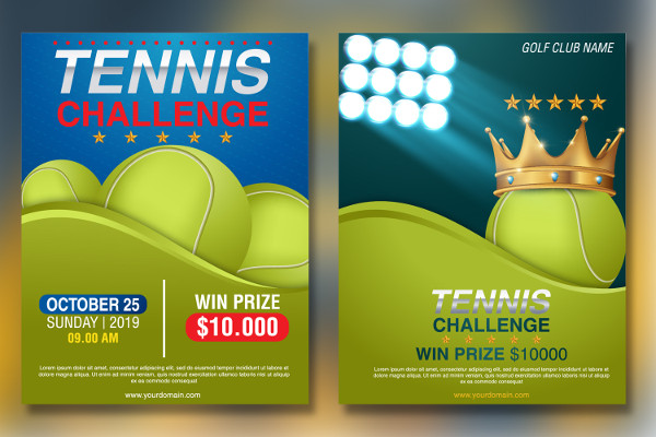 Perfect Tennis Flyers