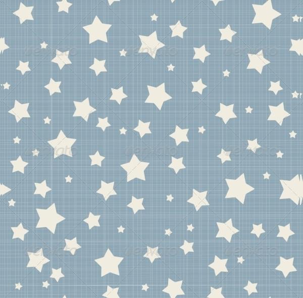 Seamless Stars Patterns Set