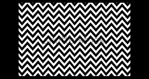 Simple Striped Black and White Vector Pattern