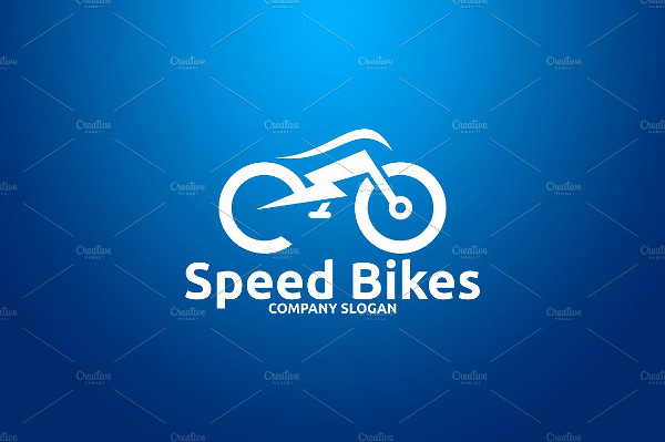 Speed Bikes Logo Template
