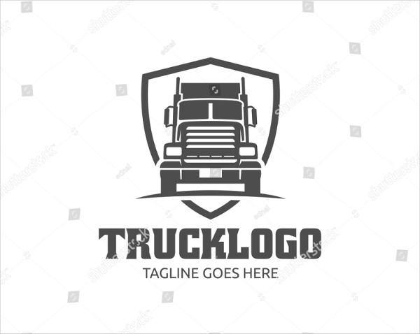 Template of Truck Logo