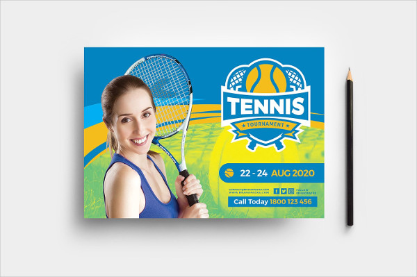 Tennis School Flyer Template