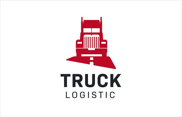 Truck Logistic Logo Design