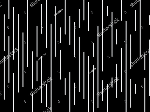 Vertical Vector Design Black and White Pattern