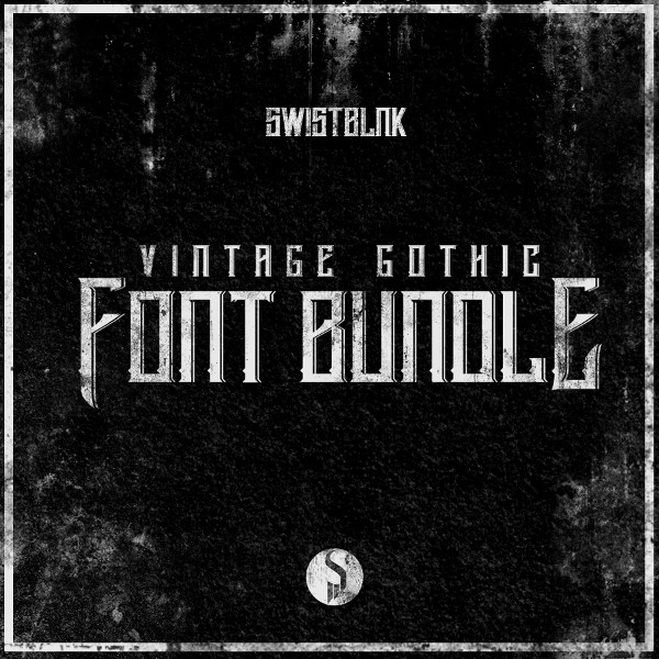 Vintage Gothic Handcrafted Fonts Bundle