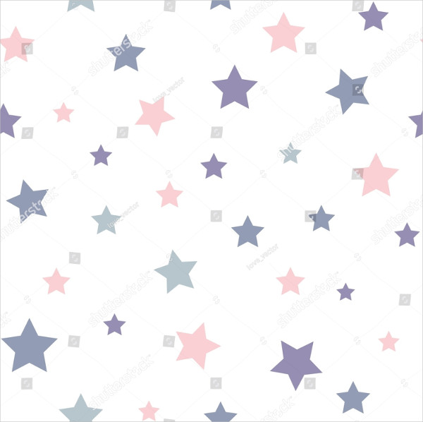 Vintage Stars Pattern