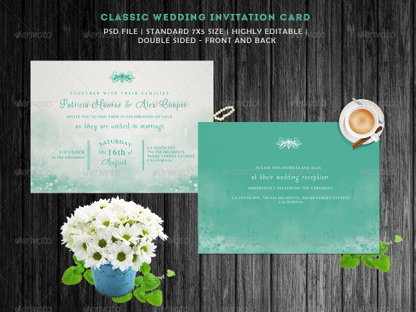 Colourful Design Perfect for Wedding Invites