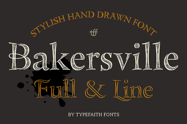 2 Hand Drawn Sketch Fonts