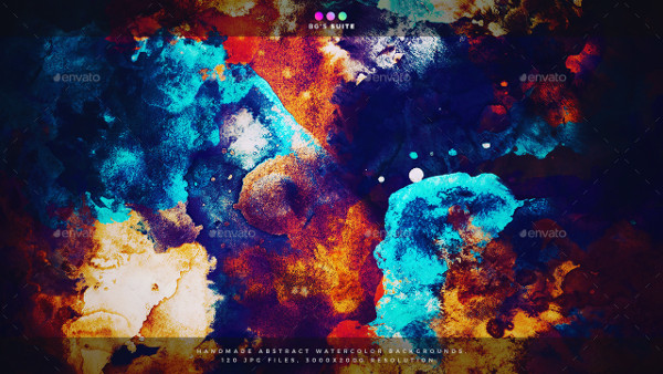 600 Abstract Painting Backgrounds Bundle