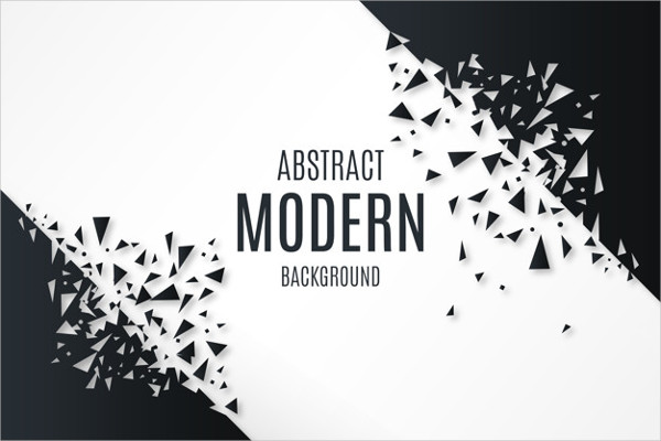 Abstract Background with Broken Shapes Free