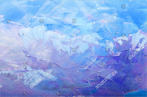 Abstract Oil Paint Texture Background