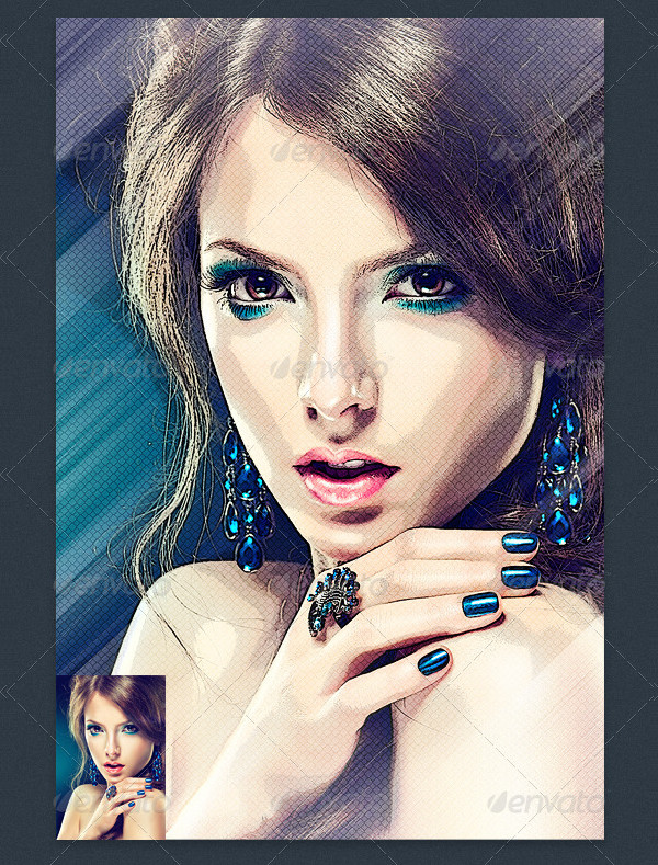 Art Me Photo Effect Template