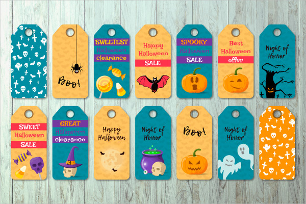 Best Halloween Label Tags