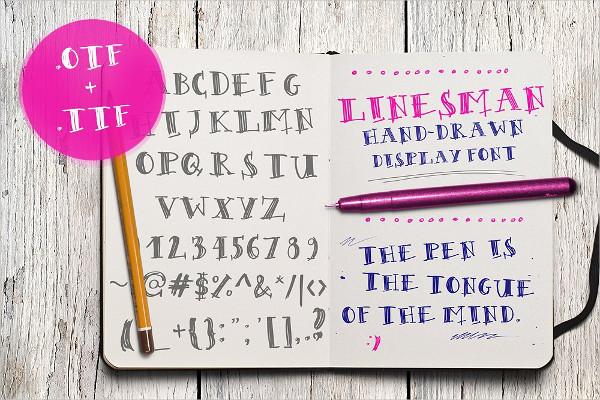 Best Sketch Font