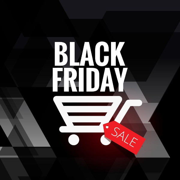 Black Friday Sale Design With Cart Icon Free