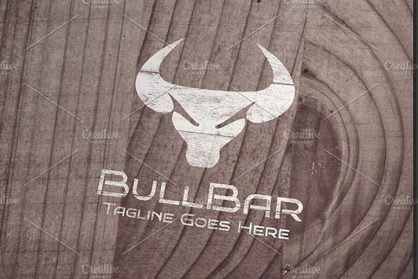 Bull Bar Logo Template