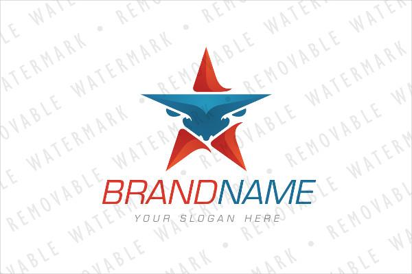 Bull Star Logo Design