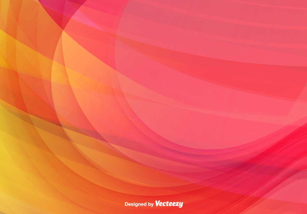 Color Abstract Wave Vector Background Free