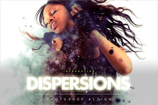 Dispersions Photoshop Action