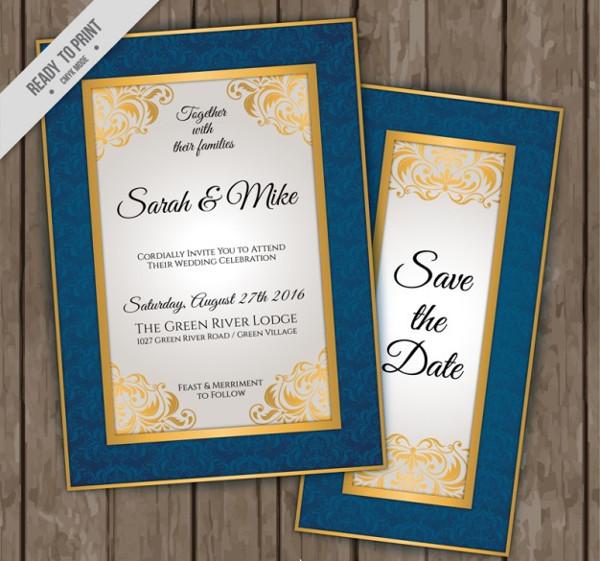 Elegant Wedding Invitations Free