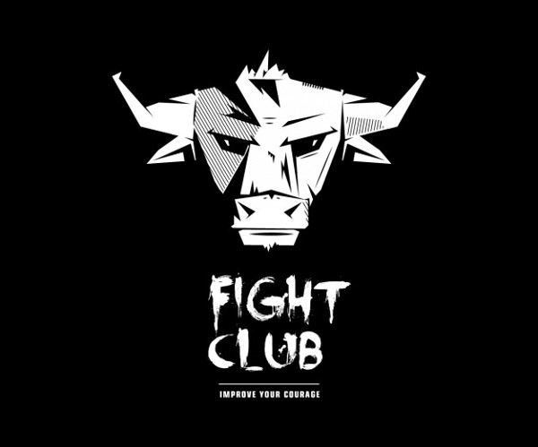 Fight Club Bull Logo Free