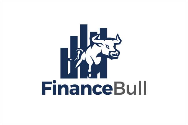 Finance Bull Logo Template