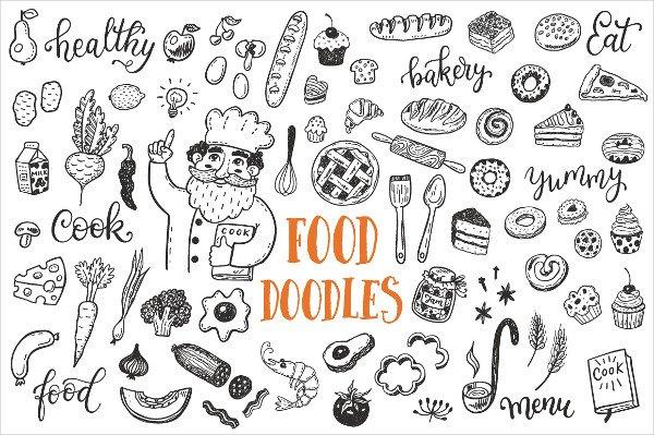 Food Dooles Set & Patterns