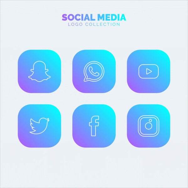 Free Download Social Media Logos Collection