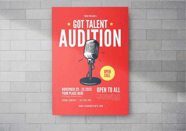 Got Talent Flyer Template