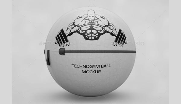Gym Ball MockUp