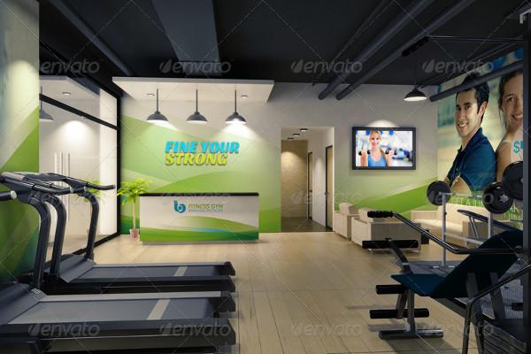 Gym Branding Mockups