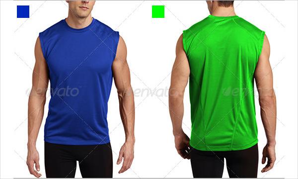 Gym Shirt Mock-Up Pack