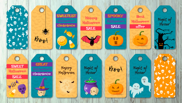Halloween Label Templates