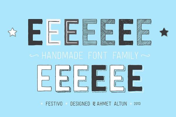 Handmade Sketch Font