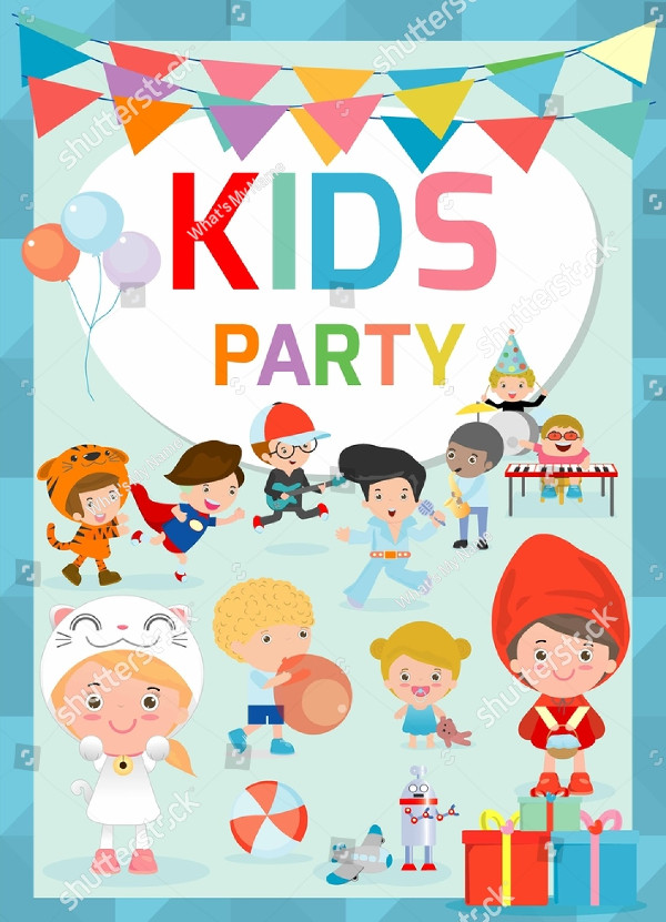 Kids Talent Show Design Flyer