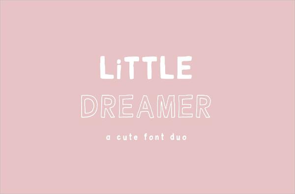 Little Dreamer Cartoon Font