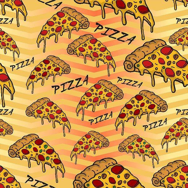 Modern Pizza Pattern