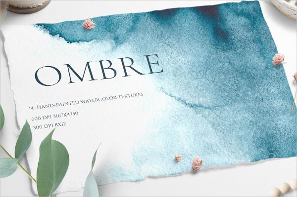 Ombre Watercolor Texture
