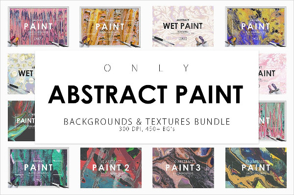 Only Paint Backgrounds Bundle