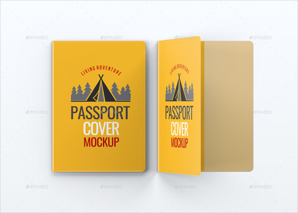 Passport Cover Mock-Up