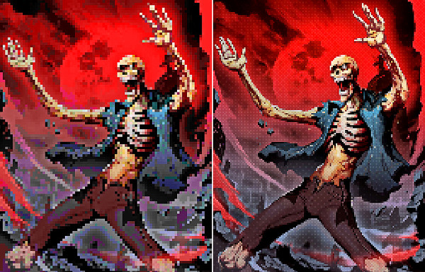 Pixel Artist Retro Photoshop Action